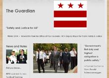 Public Safety and Justice Cluster Newsletter Debuts